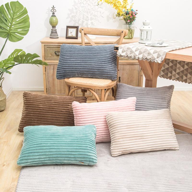 Kissen / dekorativer Kissen Cord-Sofa-Kissenbezug Dekorativer Wurf-Fall Home El Office