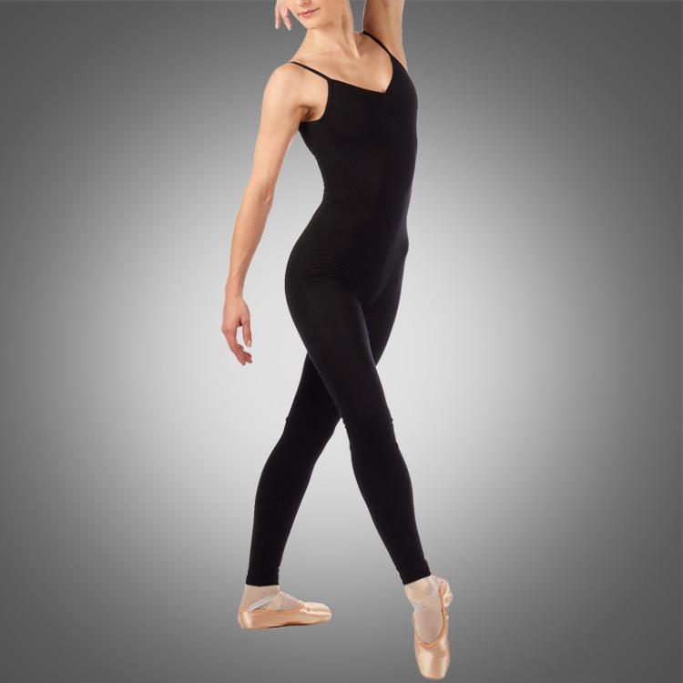 Kind Cami Unitard mit einem Scoop Front C2613 Großhandel Rabatt Ballett Tanzkleidung Gymnastikabnutzung