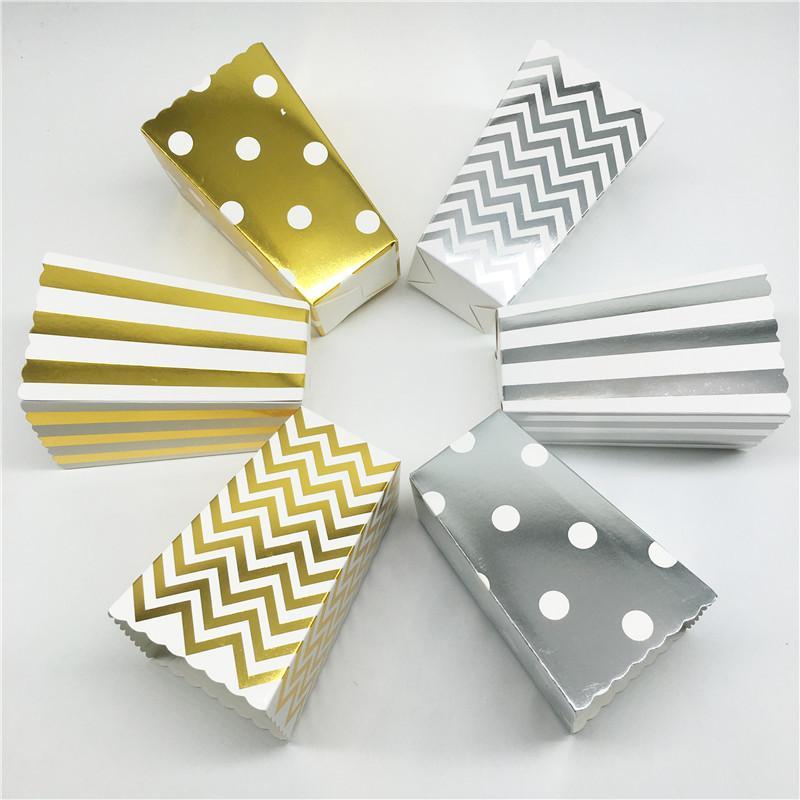 Papel de Papel de Papel de Polka Dot Papel de Papel de Papel Papel de Partido Packaging Bocadillos Bocadillos Decoración de cumpleaños Año de Navidad ZXFTL0026