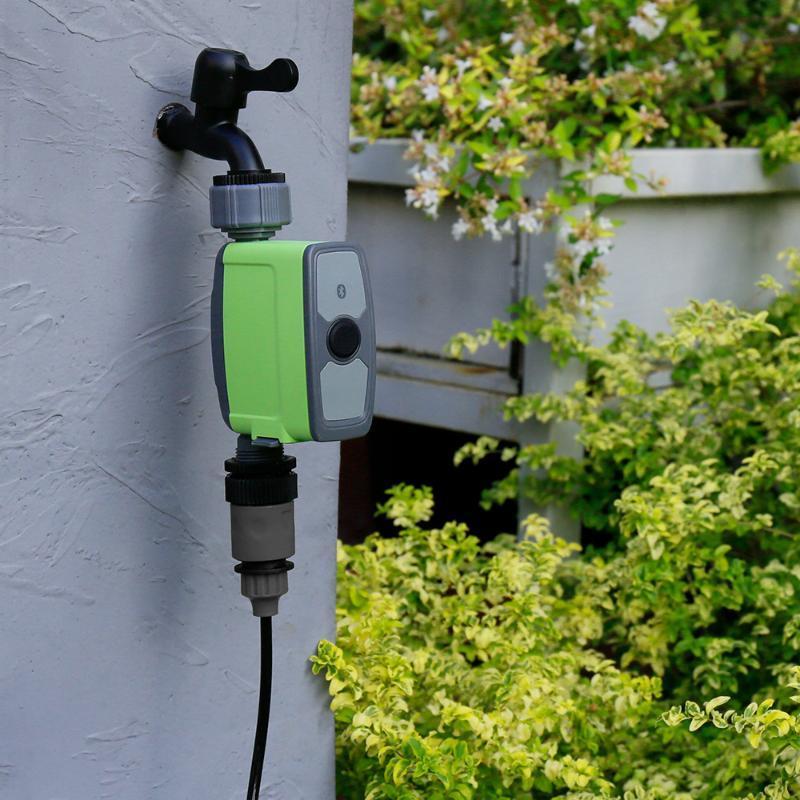 스마트 홈 컨트롤 정원 급수 타이머 BT 앱 자동 탭 관개 밸브 장치 디지털 수도꼭지 시간