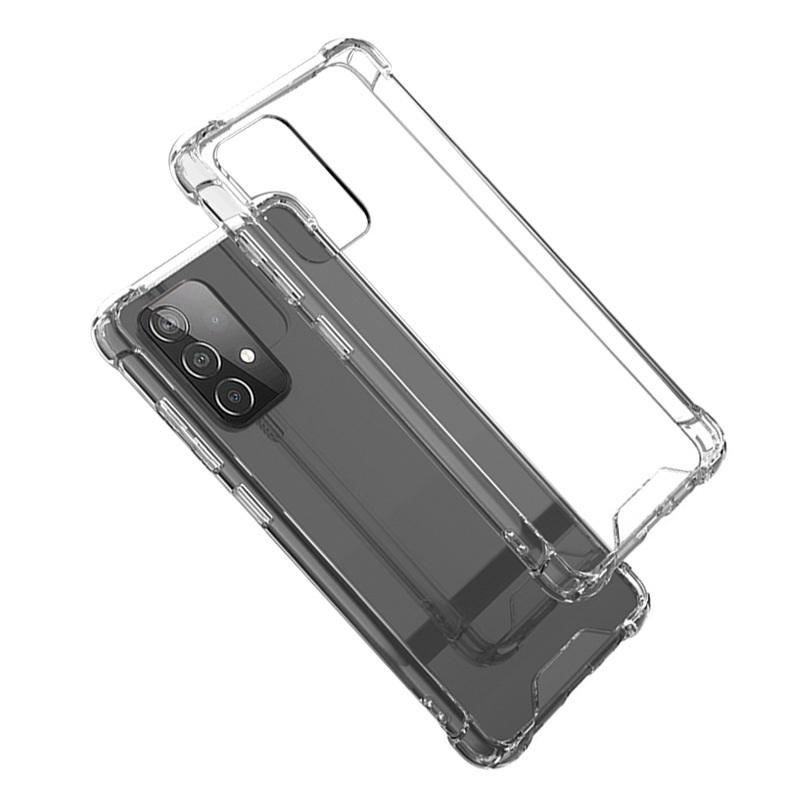 1.0MM Transparent Shockproof Hard Acrylic TPU Hybrid Armor Cases Cover for Samsung Galaxy S30 ULTRA A32 A52 A72 S20 PLUS 100PCS/LOT