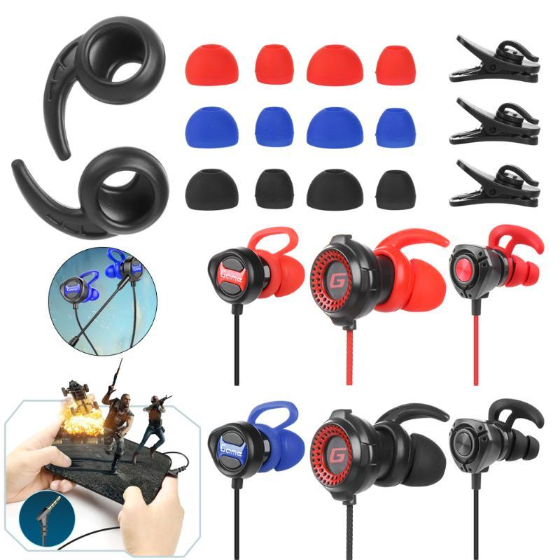 Professional Stereo Gaming Noise Reduction Headphones 3.5mm Multifunction In-Ear Headset Game Player With Microphone For Android & Earphones