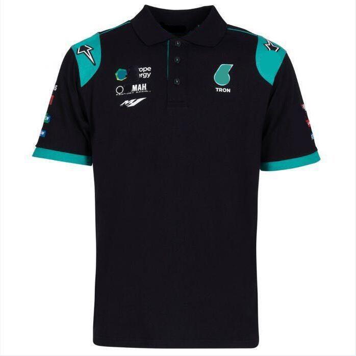 F1 Equipo de carreras Camiseta de solapa Camiseta Polo Camisa de manga corta para hombre Logotipo de coche Logotipo Personalización