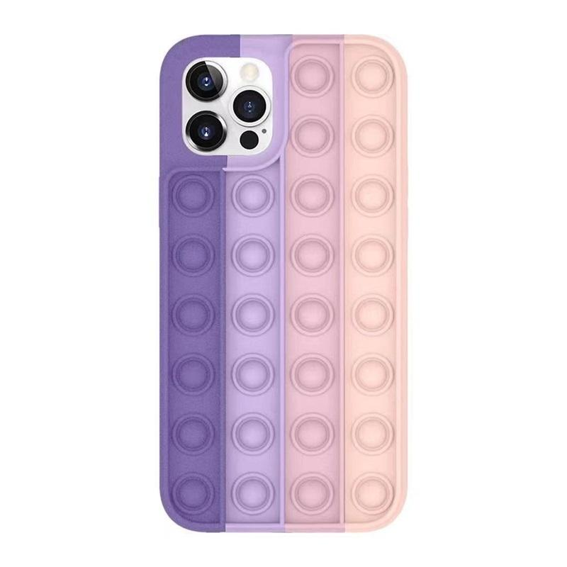 POP Fidget Case Decompressione Silicone Party Favore Casi Telefono per 12 11 Pro XS Max XR 7 8 Plus Mate30 Mate40 P40 596 T2