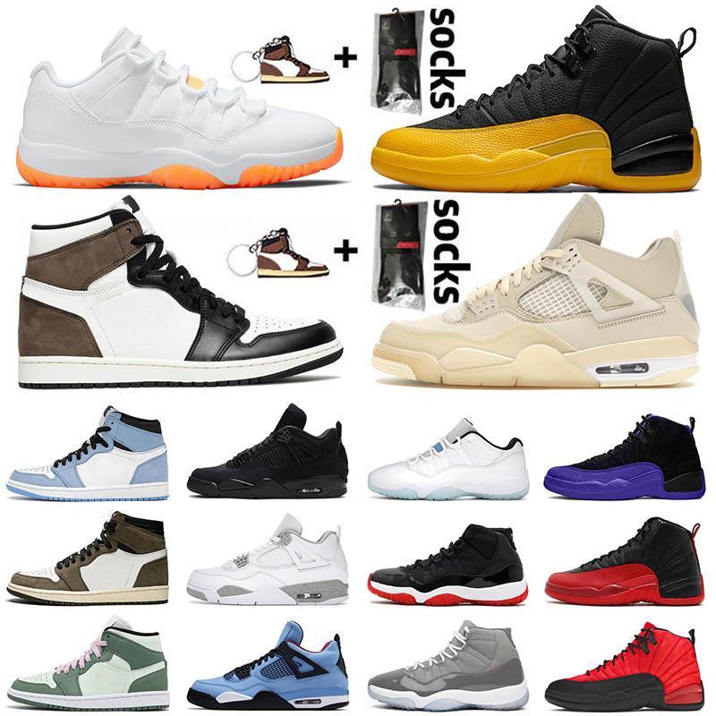 2020 أحذية Air Jordan Retro 12 12s XII Jumpman Stock x Jumpman DARK CONCOR FLU GAME University Gold 23 Gym 2018 BULLS  احذية كرة السلة حذاء رياضي رجالي جديد SIZE EUR 47