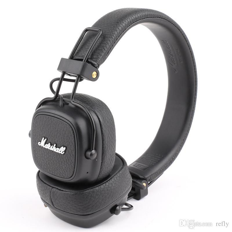 Marshall III Bluetooth Kulaklıklar Kulaklık Derin Bas Gürültü Yalıtımlı Kulaklık Kablosuz Binbaşı 3 Moda Kulaklık