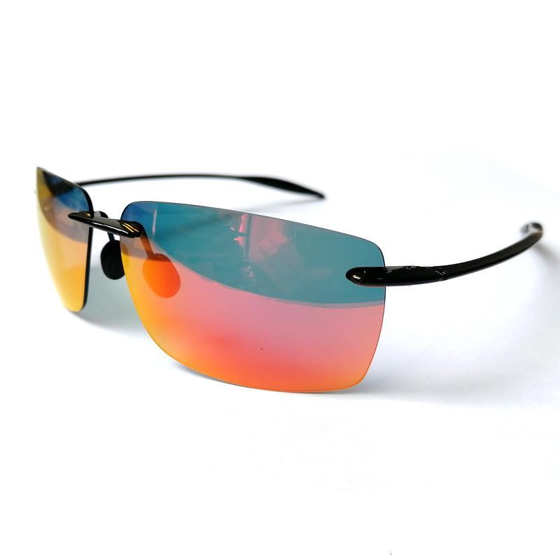 Óculos de sol novos homens polarizados aleatórios ultraleve quente ultra luz frallose quadrado para womeni291