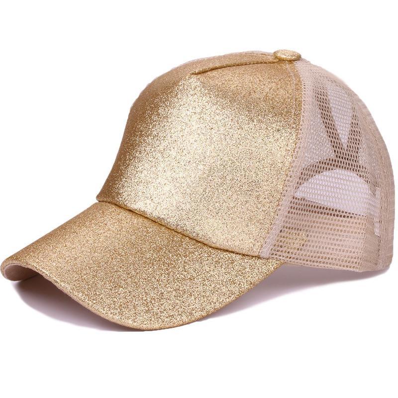 CAP Summer Sun Hat Sun Hat Lettres fluorescentes Sports Ponye Baseball