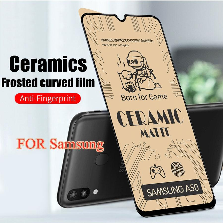 Soft Ceramic Matte Screen Protectors Film For Note 10 Lite S10 M30 M30S M10 Samsung Galaxy Tempered Glass