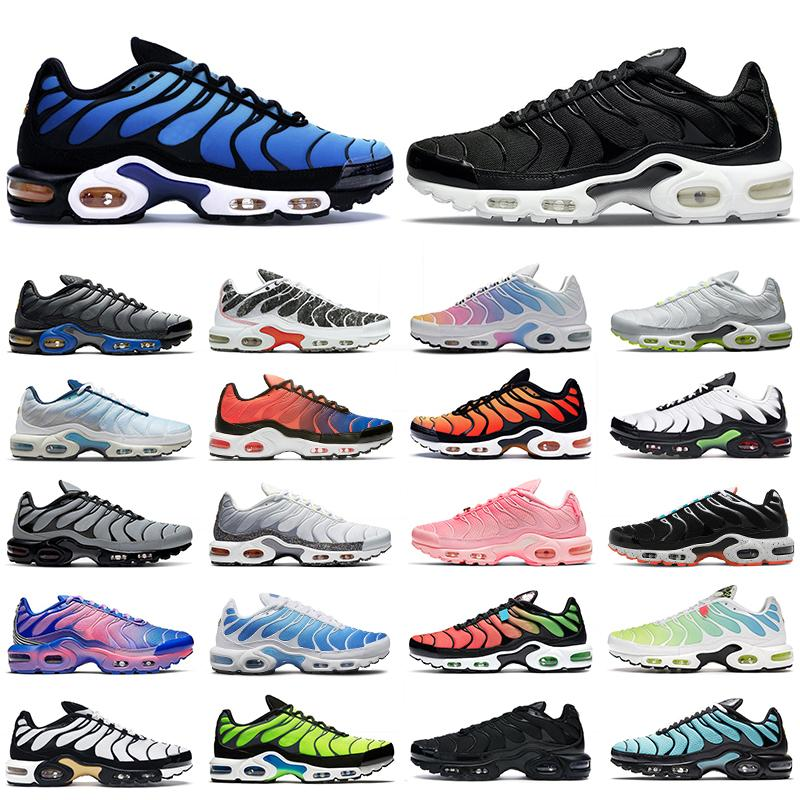 2021 tn plus SE shoes 남성 운동화 트리플 블랙 후퇴 미래 화이트 크림슨 대학 레드 남성 트레이너 패션 스포츠 운동화 러너