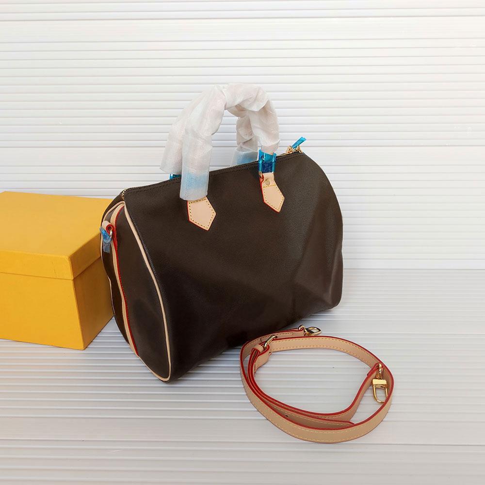 good quality classic Designer women handbags Genuine Leather bags female flower ladies handbag 30cm mens wallets Luxury womens shoulder bag 41526 old flowers Purse