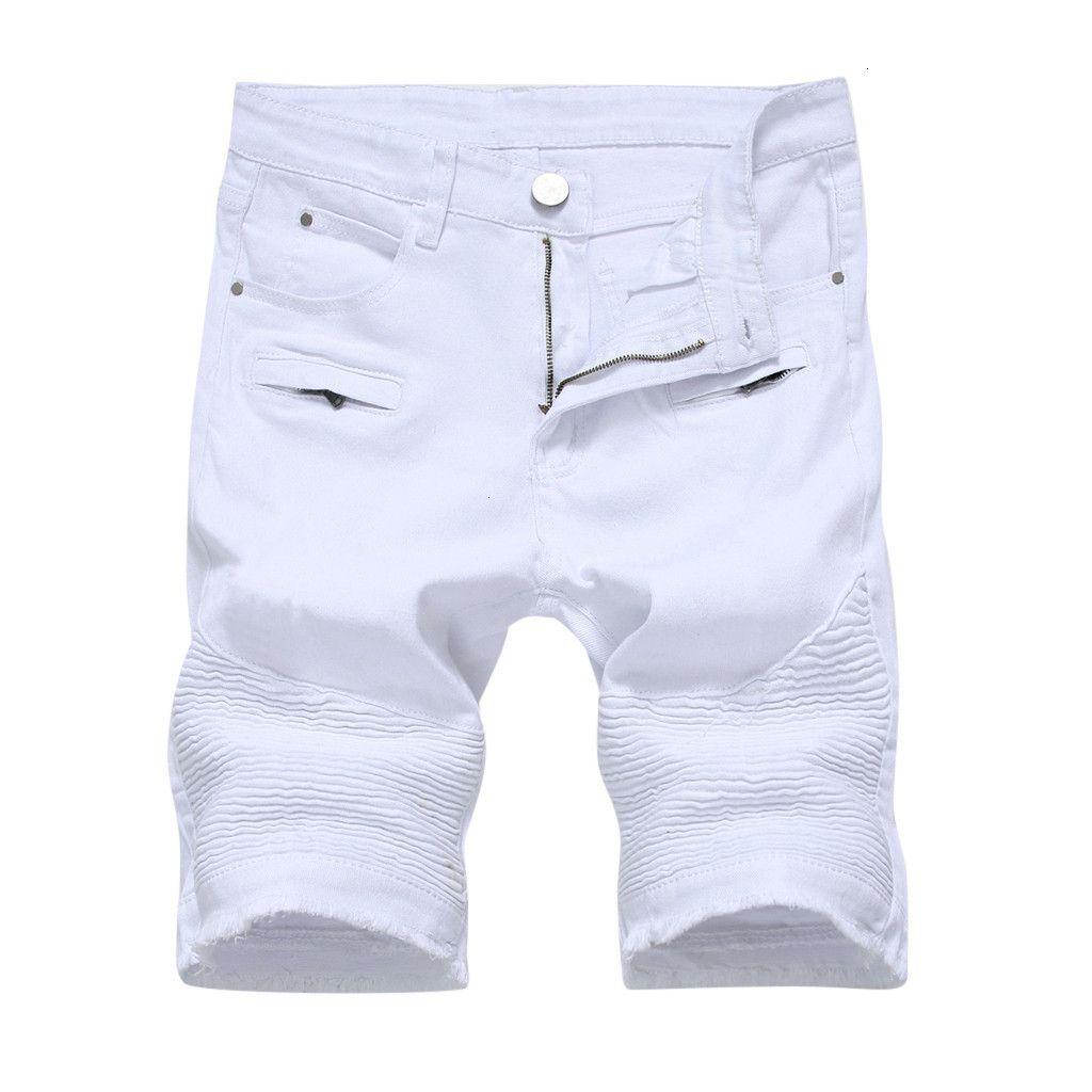 Hombre de verano Hole Cremallero Crumple Fit Denim Vintage Vintage Jeans Mujer Plus Pantalones Pantalones Vaqueros # G4C7FQYGF6XB0Q