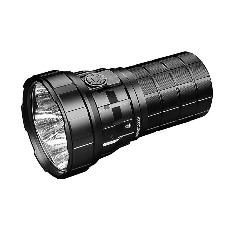 Lanternas Tochas Imalent R60C 18000lm com 6 engrenagens para camping ao ar livre Caça de caça Caving Patrolling Lumens Brightness Doub