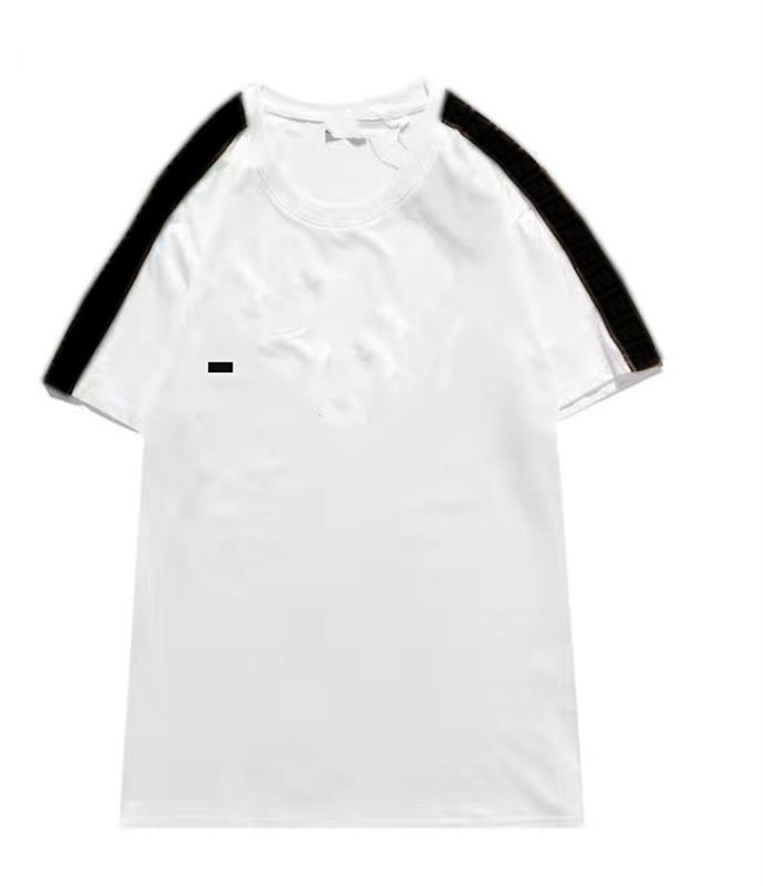 صيف 2021 رجل تي شيرت إلكتروني قصيرة الأكمام الفاخرة القطن التعاون الأزياء الهيب هوب 4 أنماط الملابس