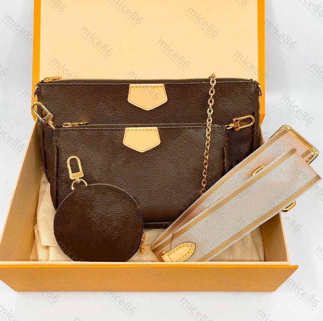 Luxur Designer Bag Originale Borse Original Borse Single Tote Borse Donna Multi Pochette Accessoires Portafoglio Uomo GRATIS GRATIS GRANDBORESCOMBAMENTO Famoso a tracolla Borse a spalla genuina