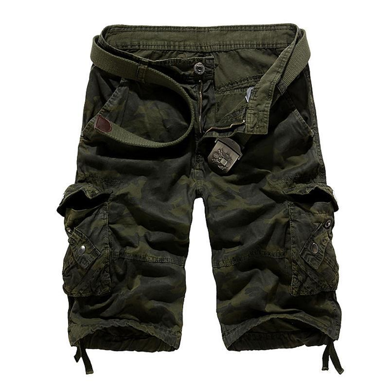 Ankunft Shorts Männer Casual Herren Camouflage Cargo Outwear Military Fashion Herren Plus Größe 29-40