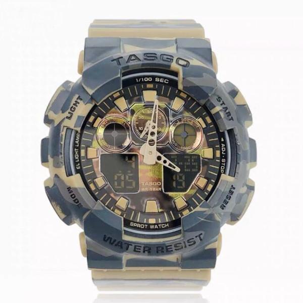 2021 Высокое качество Relogio G * 100 Полный комплект Мужские спортивные часы Бренд Мужчины Светодиодные Хронографии Наручные часы, Военные Часы, Цифровые Часы Девушка