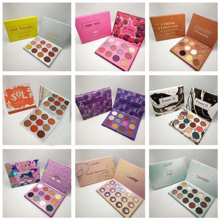 Colourpop ماكياج لوحة مصمم مجموعة 15 ألوان عينيه 8 أنماط