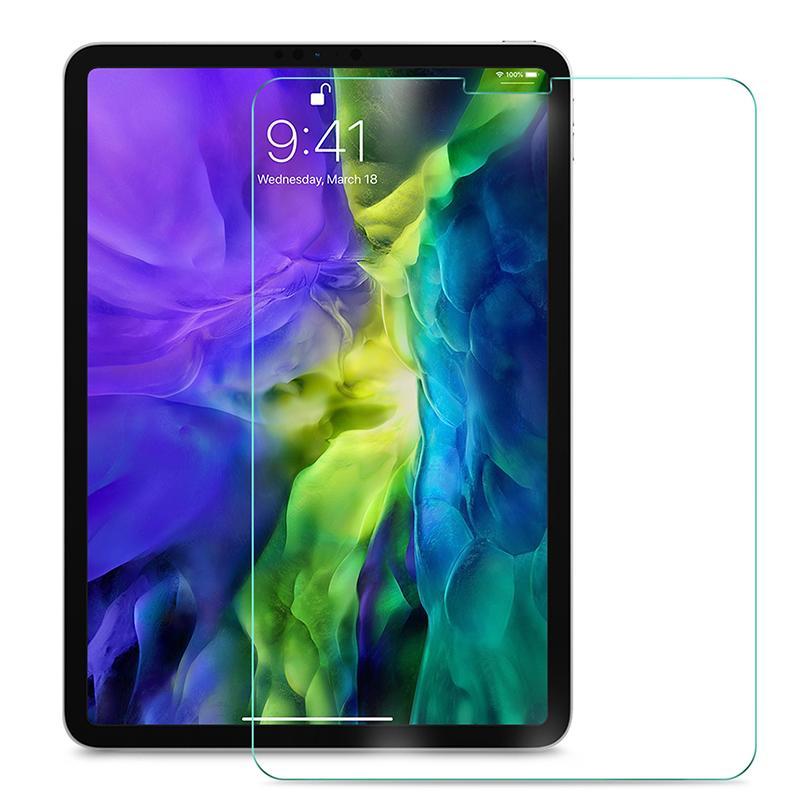 iPadの空気4 10.9 11 Pro 9.7 10.5 10.2ミニ5 6のための保険料耐圧防止強化ガラススクリーンプロテクター