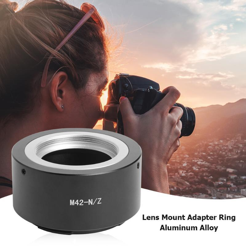 High Precision M42-NZ Lens Mount Adapter Ring For M42 To Z Mirrorless Camera Adapters & Mounts