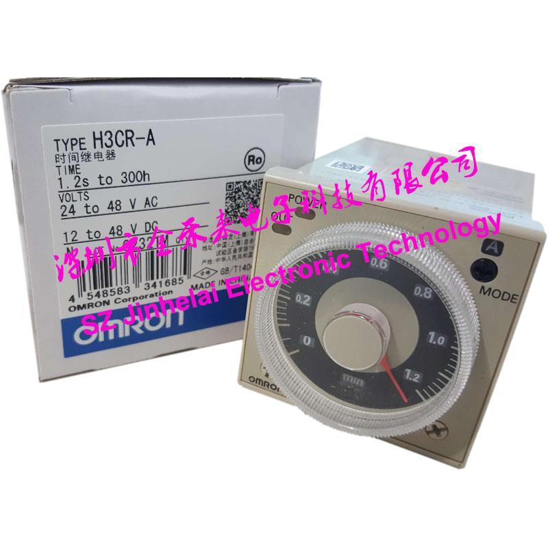 الأصلي H3CR-A 24-48VAC / DC Omron Time حاسبة توقيت الحالة الصلبة