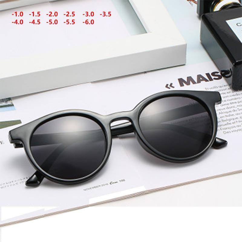Готовые очки миопии для прозрачных кадров подзорные очки -1 -1.5 -2 -2.5 -3 -3,5 -4 -4.5 -5 -3.5 -4 -4.5 -5 -6 L3 Солнцезащитные очки