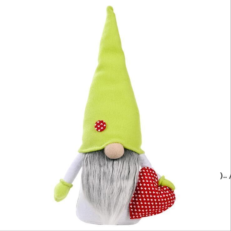 Festa della mamma Gnomes senza volto coniglietto Dwarf bambola coniglio peluche giocattoli per feste forniture amore mamma regalo bambini regalo felice Pasqua decorazione della casa OWE5345