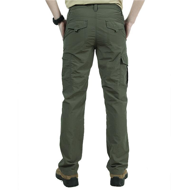 남성용화물 바지 캐주얼 육군 군사 멀티 포켓 야외 가벼운 전술 조깅자 Pantalon Homme