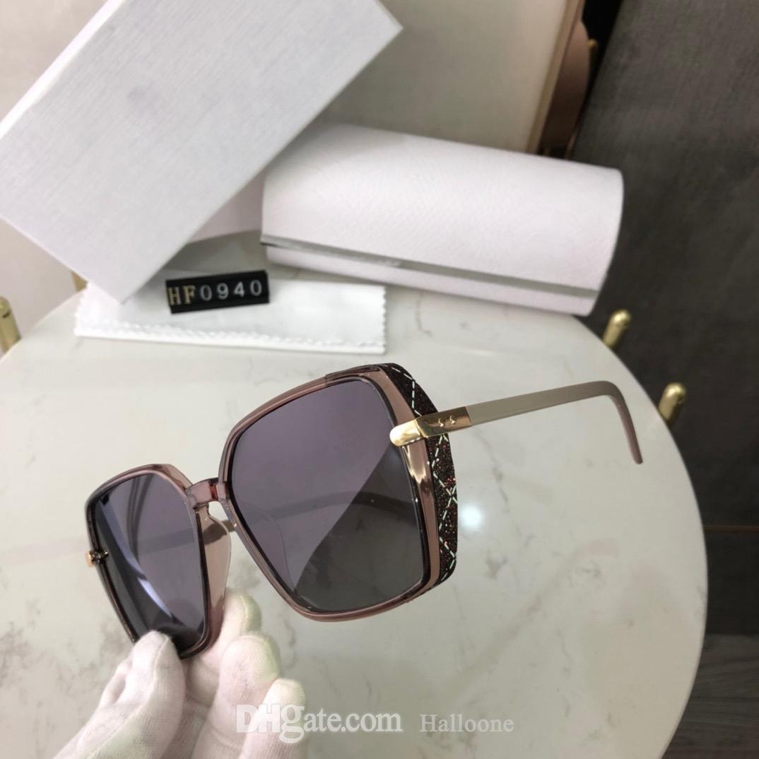 Luxus Männer Frauen Marke Polarisierte Sonnenbrille für Herren Womens Sun Eyewear Spiegelrahmen Designer 0940 Sonnenbrillen Pilot 2021 UV400 Gläser Metall Polaroid mit Box