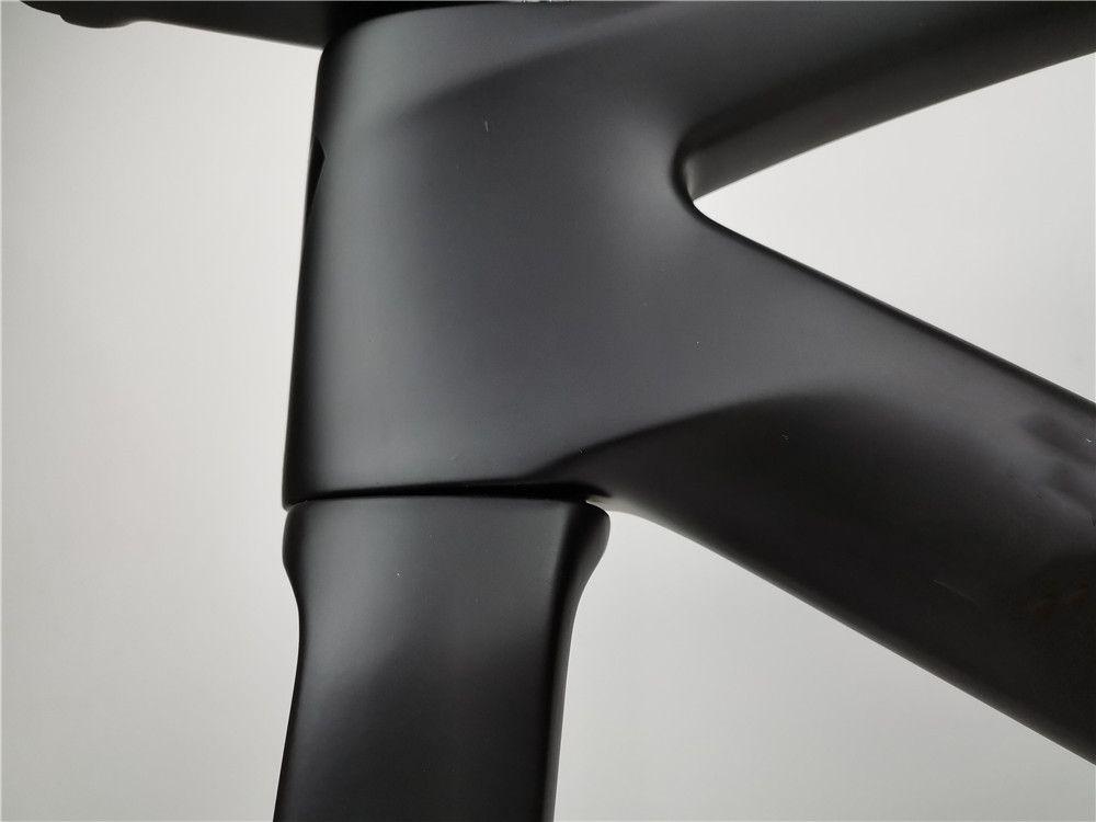 عالية الجودة الكربون إطار الطريق دراجة قرص الفرامل مناسبة ل di2 المجموعة 700C دراجة إطارات إطارات متوفرة في العديد من الألوان