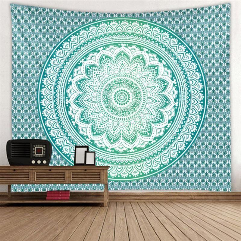 Wandteppiche 150x200cm Böhmische Tapisserie Lila Mandala Strandtuch Wand Hanging Decke Home Schlafzimmer Kunst Teppich