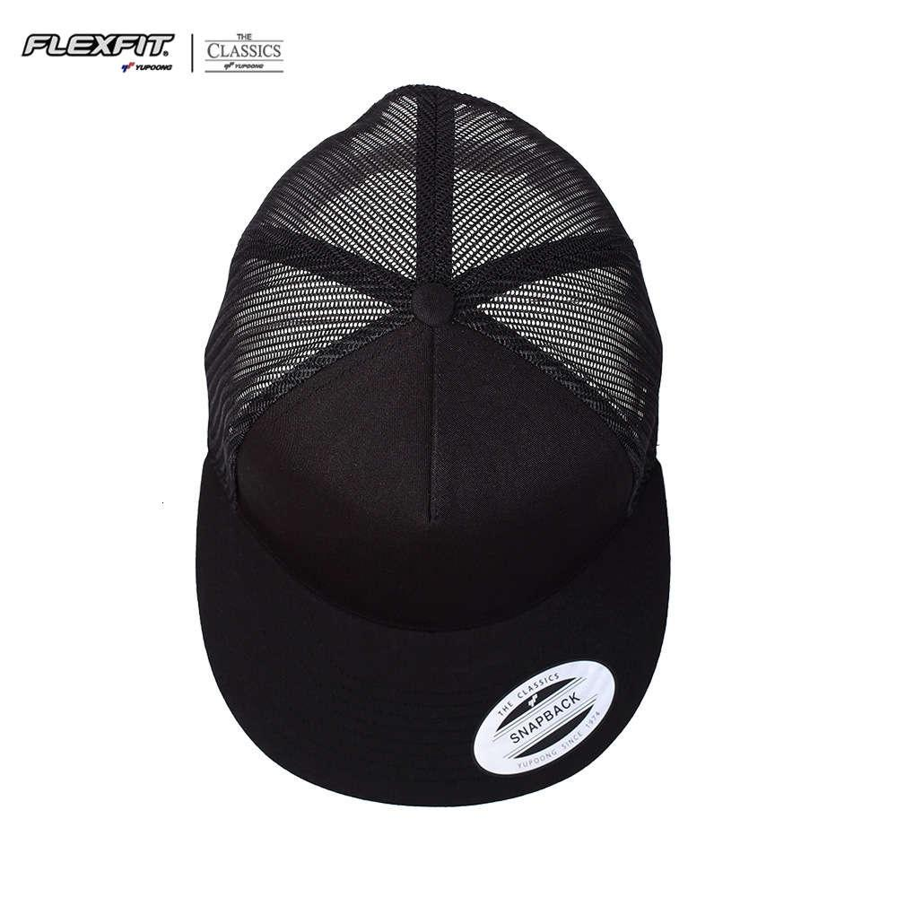 gorra yupong-snapback gorra de béisbol borde plano sombrero de malla abierto ajustable
