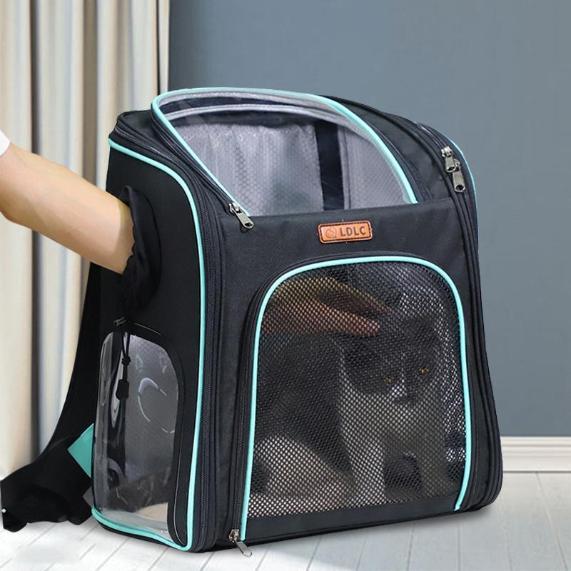 Puppy Cat Carrying Bag Transparent Mesh Breathable Backpack Top Quality Space Pet For Dog Car Seat Covers
