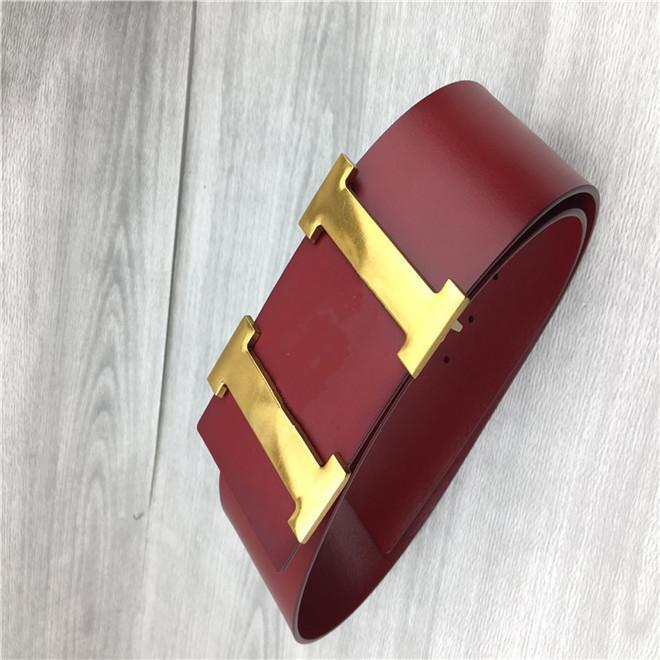 Designer Designer Designer nero e rosso Donne di alta qualità Moda 7.0cm Daijin D Cinture fibbia + scatola originale