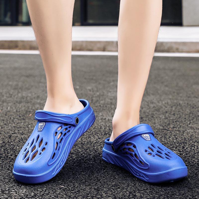 Moda Terlik Slaytlar Uygun Ayakkabı Kadın Yumuşak Açık Nefes Plaj Spor Hafif Bahar İki Boyut 36-48