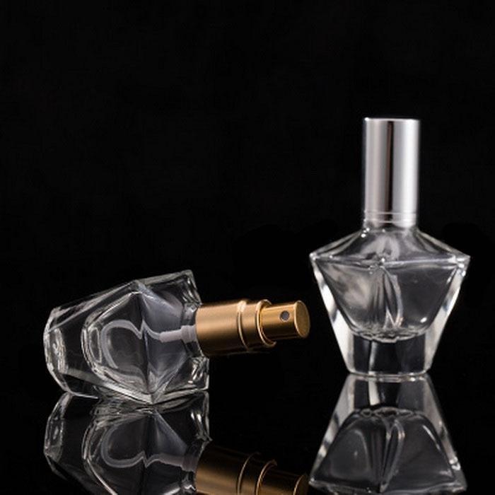 Storage Bottles & Jars 10ml Glass Spray Bottle, Perfume Press, Sub Mist, Sample, Travel, Empty Bottle