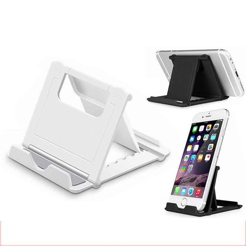 Universal Folding Bracket Desktop Adjustable Phone Stand Holder Foldable Mounts For CellPhone Samsung Tablet PC Smartphone Multi Colors