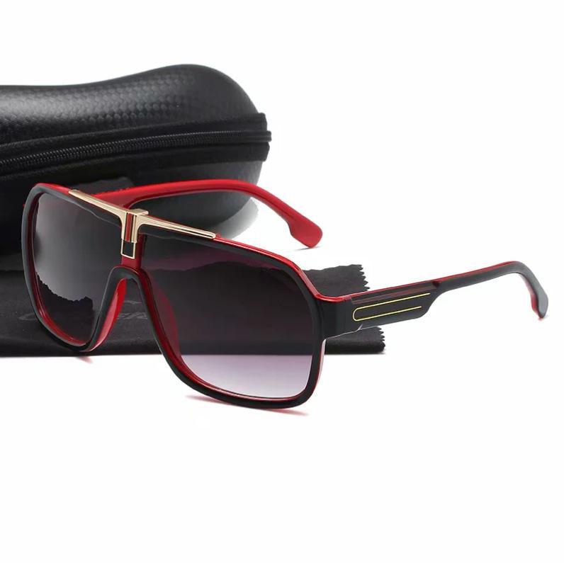Europeu e americano homens mulheres design de luxo 1014 Óculos de sol para elegante clássico UV400 de alta qualidade verão ao ar livre condução praia lazer