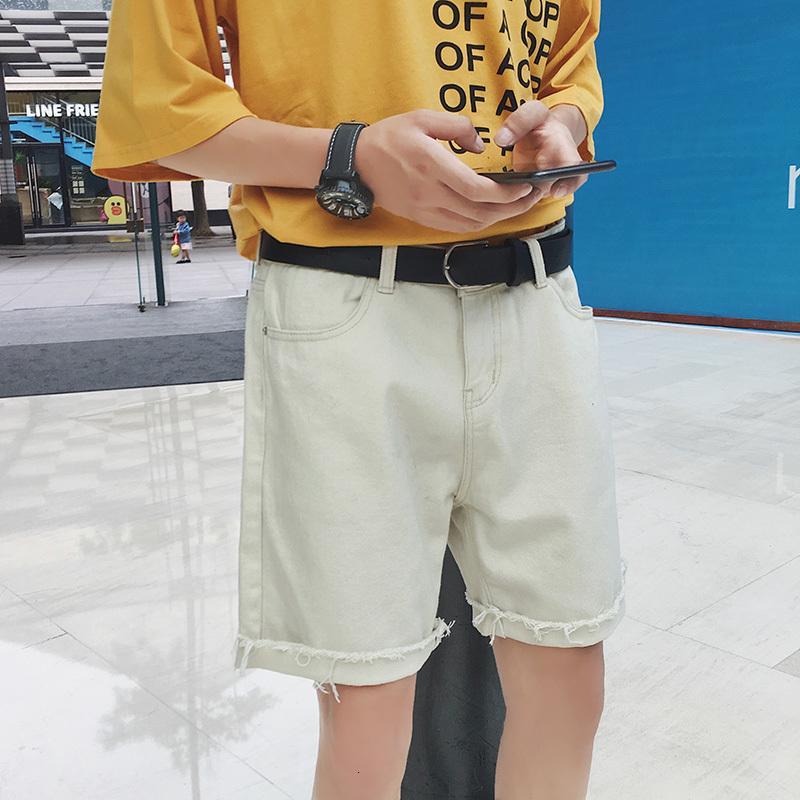 2021 Caballeros de verano Nuevo Casual All-Match Beach Blanco / Negro Color LOSSE Modo TRABAJO Pantalones cortos de carga más Tamaño M-2XL