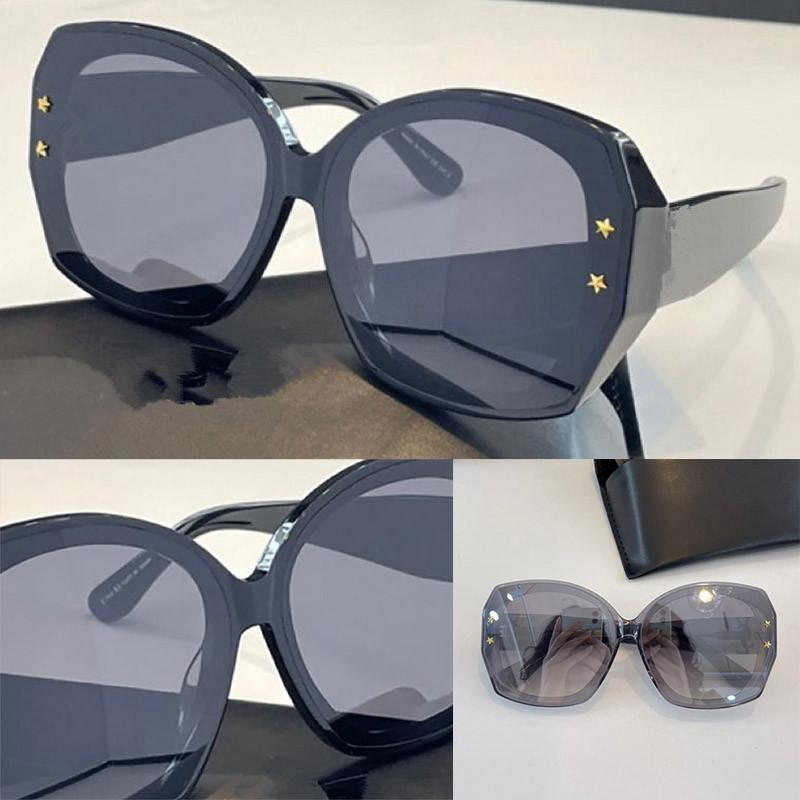68K Fashion Summer style Multicolor Sunglasses UV 400 Protection for men and Women Vintage Butterfly type Plank Frame Top Quality Come With Case classic eyeglasse