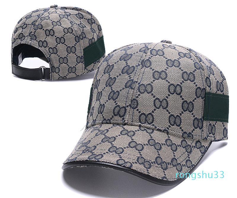 2021 designer boné de beisebol moda homens homens esportes chapéu ajustável tamanho bordado homem clássico estilo atacado