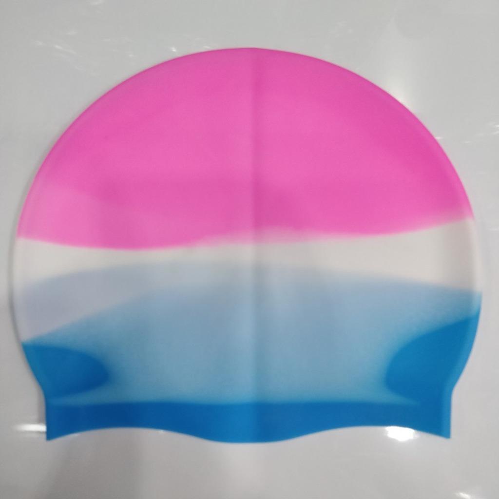 Gorra de natación Venta al por mayor Multicolor Unisex Silicona para cabello largo Paño de buceo impermeable Profesional Sombrero de natación Mantenga el cabello Dry G3367ic