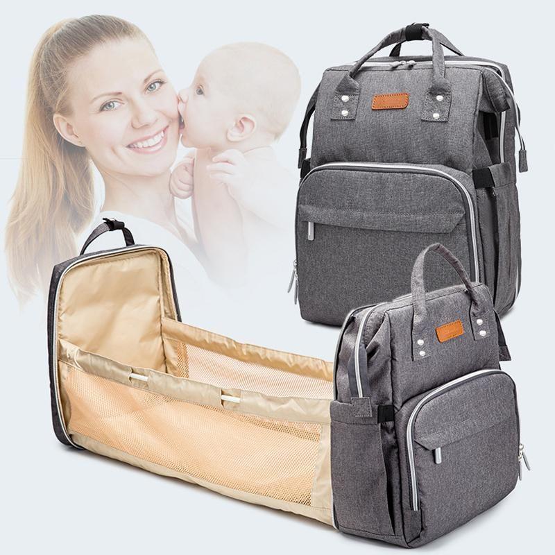 Pre-Design Baby Diaper Sac étanche Maternité pour poussette Nappy Nappy Grande capacité Multifonction Momie Sacs Stockage