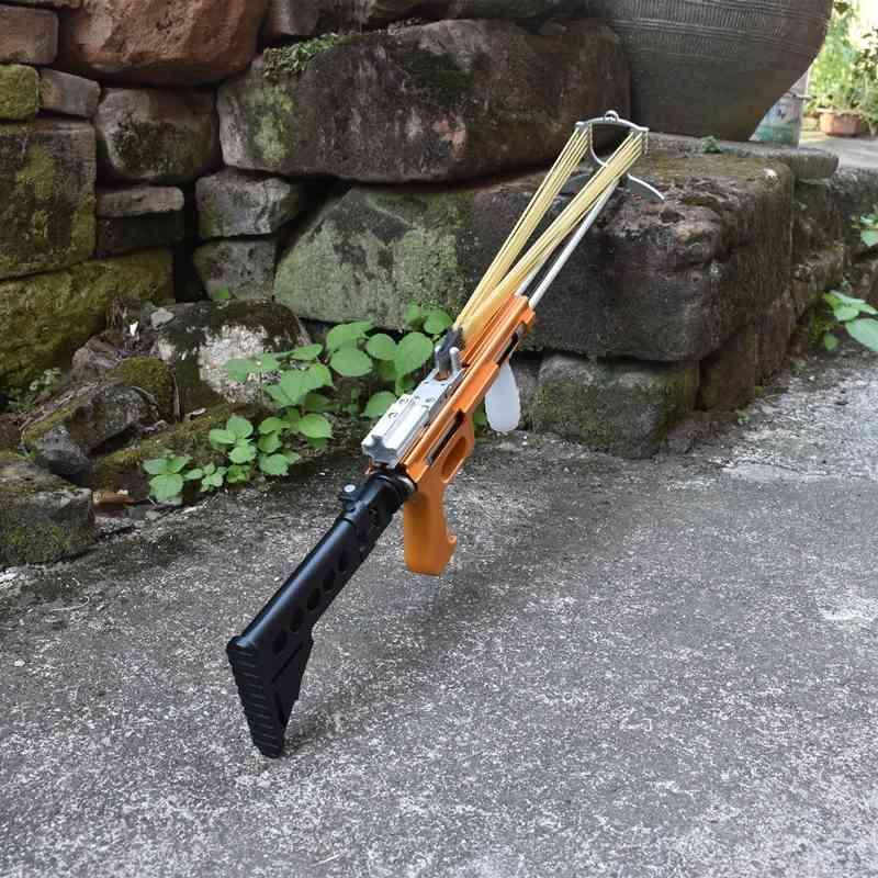 جديد قابلة للطي مقلاع بندقية ميكانيكية مقلاع في الهواء الطلق اطلاق النار أدوات الصيد أدوات الصيد الإبداعية عرض خاص مقلاع x0524