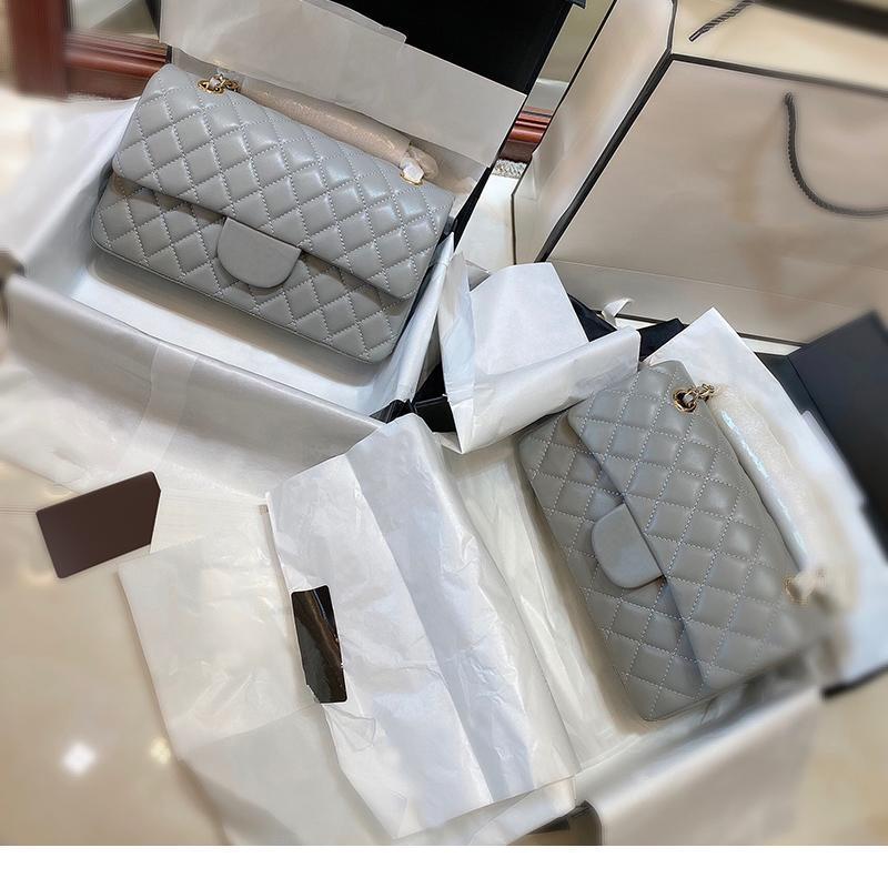 Classic Design Designer Cross Body Bag Mulheres Bolsas Bolsa de Alta Qualidade Chain 5A Pequeno Ombro Genuine Couro Mensageiro Preto Tote Bolsa