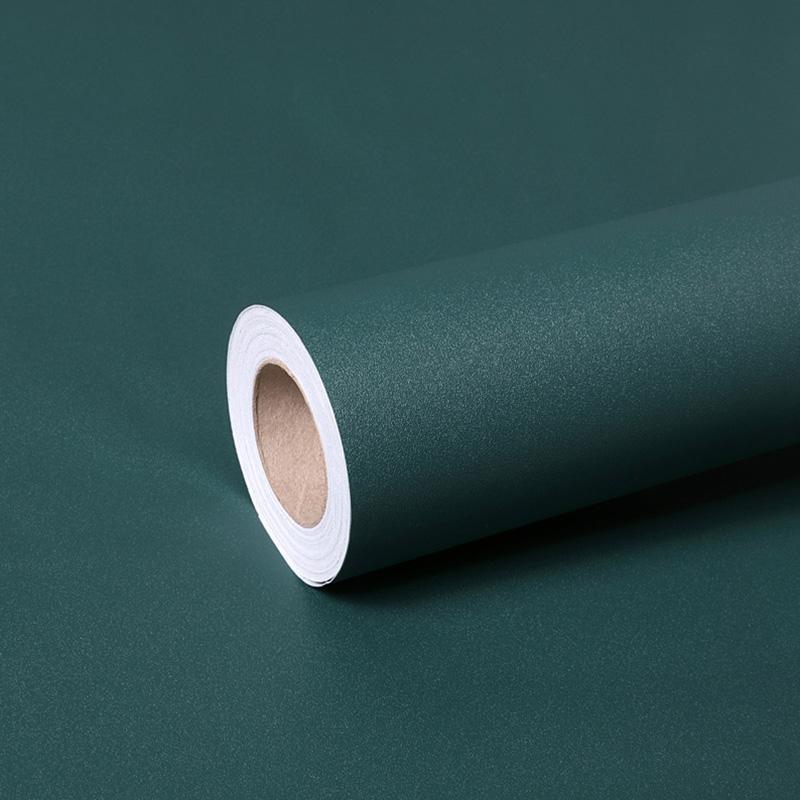 Темно-зеленые самоклеящиеся обои для обоев спальня кухонные ящики лайнер кабинет наклейка PVC водонепроницаемый контактная бумага стены украсить росписиные обои