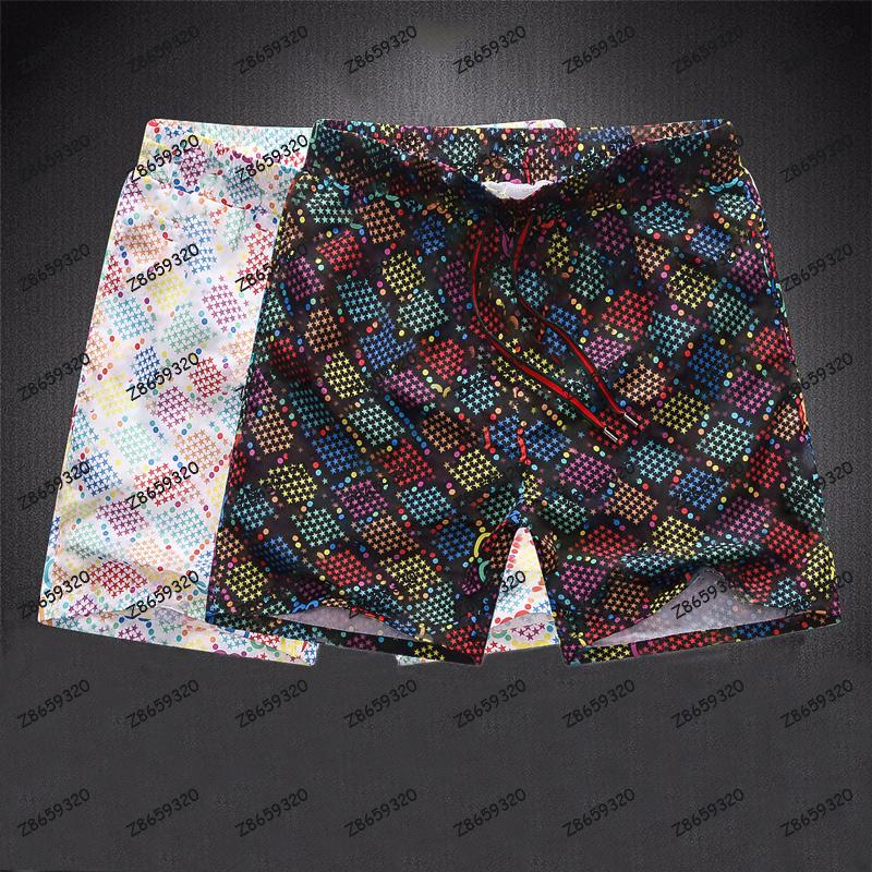 أزياء الصيف الرجال السراويل التجفيف السريع ملابس الطباعة مجلس الشاطئ السراويل رجالي السباحة قصيرة الحجم M-XXXL