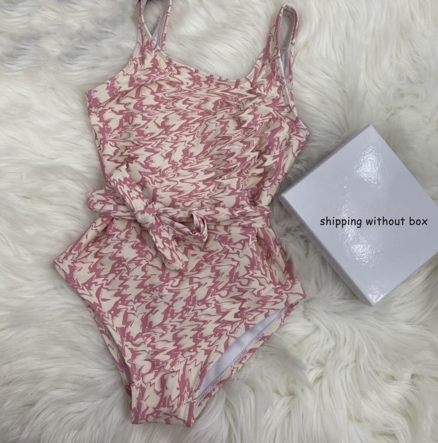 أطفال بنات قطعة واحدة الطفل لطيف بيكيني أكمام التعادل ملابس السباحة سبليت الأزياء إلكتروني مطبوعة شاطئ chidren ملابس الصيف 2021