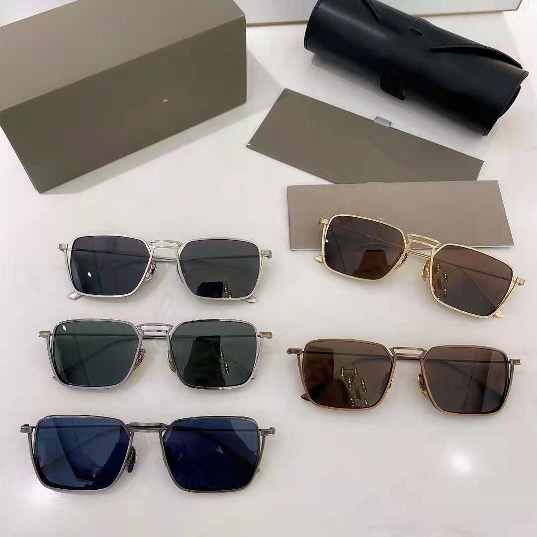 New fashion Sunglasses Driver design man eyeglasses square frames vintage popular style uv 400 protective outdoor eyewear