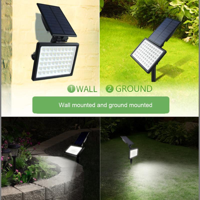 Çim Lambaları LED Güneş Otomatik Anahtarı Işık Su Geçirmez Açık Bahçe Stakes Spot Yard Sanatı Ev Avlu Dekorasyon Için